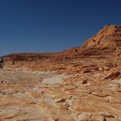 Trekking off the beaten track