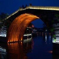 Blue Hour at QingMing Bridge