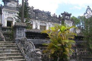 emperors tomb at top