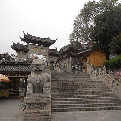 Jiming Temple: entrance