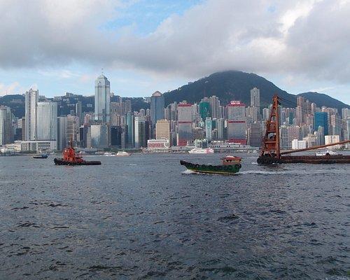 Across Kowloon Bay to Hong Kong Island