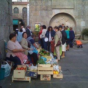 market day Santiago