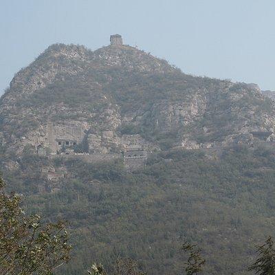 Xiangtangshan Grotto mountain