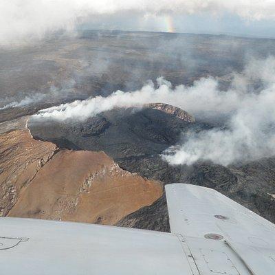 Circling the Volcano