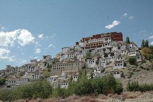 """...das Kloster - """"Juwel"""" von Ladakh...."""