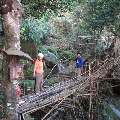 the closest bridge to Cherra