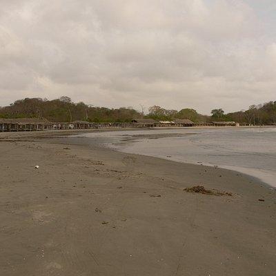 View of beach at Manzanillo
