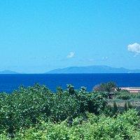 View at the Golfo dell'Asinara and Isola dell'Asinara