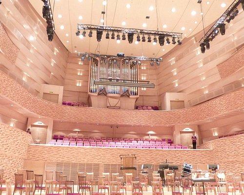 stage (and Daniel Kern et Fils organ)