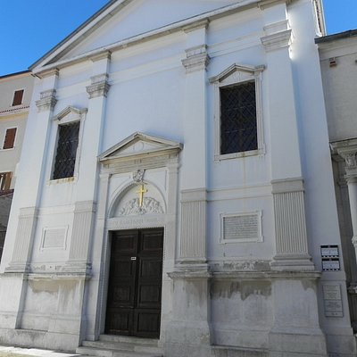 Piran - Church of St. Francis - Facade