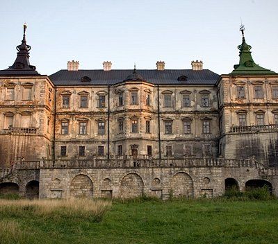 Pidhirtsi Castle front view