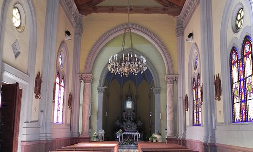 Messina - Shrine of Montalto - inside