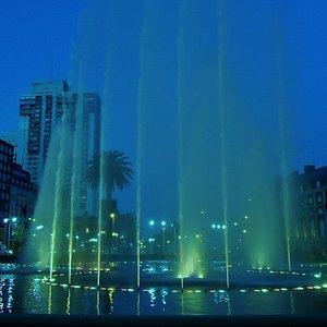 Fuente de aguas danzantes