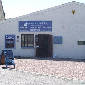 EcoVentures shop in Cromarty, Scottish Highlands