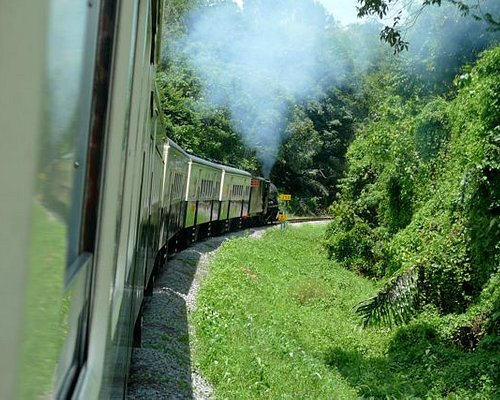 steaming along..