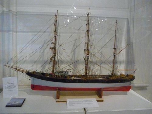 Replica of an early ship