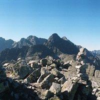 view on Gerlach climb