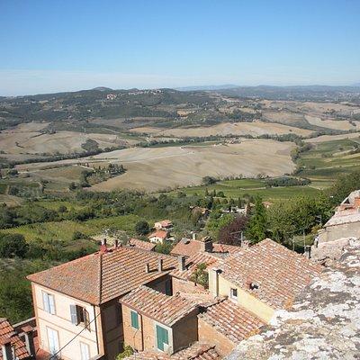 veduta panoramica Montepulciano