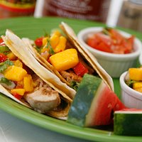 Our famous fish tacos!