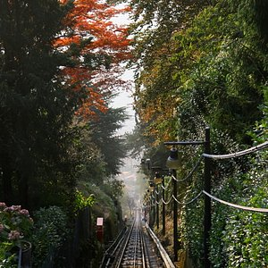 The railway from the top