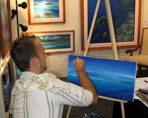 Artist Michael Glinski