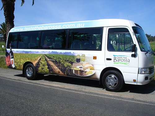 Great Bus to travel through the Barossa