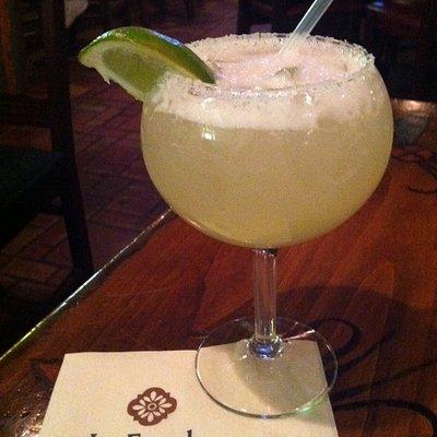 Silver Coin Margarita at La Fiesta Lounge