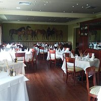 Dining Room inside the Restaurant - Photo by Pat Bonish - Every Miles A Memory