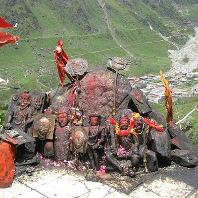 Bhairavnath ji - considered the protector of the temple