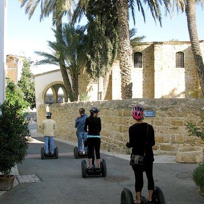 Segwaying in Old Nicosia