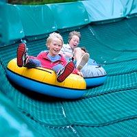 Tube sliding and kids adventure activities.