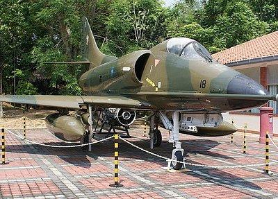 The A-4PTM Skyhawk