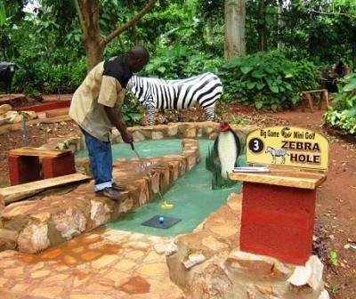 the Zebra Hole - mind the cobra