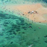 areia vermelha paradise island!