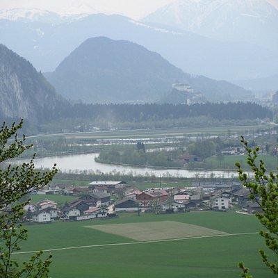 Blick in Richtung Kufstein und Inn