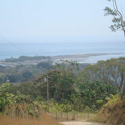 Vista de Cabuya un lugar bello.