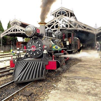 Locomotiva Maria Fumaça