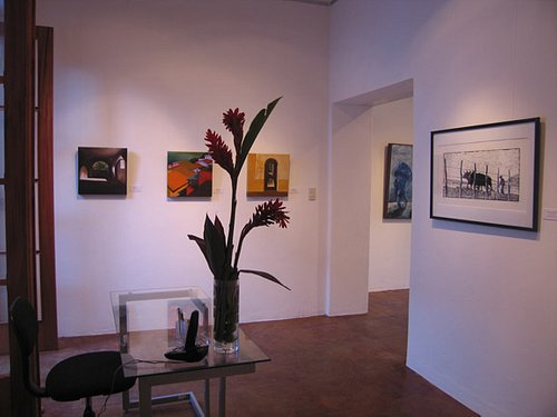 Center Room of Gallery