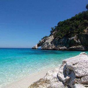 a beach in Sardinia