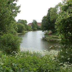 豊かな水辺の景色Østre Anlæg