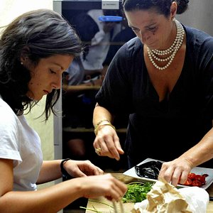 A cooking class in Venice
