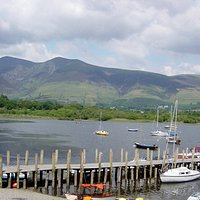 View from Cafe Terrace of Skiddaw