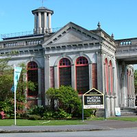 Hokitika Museum is located in the restored Carnegie Building.