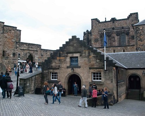 The Museum is located right in the middle of Edinburgh Castle