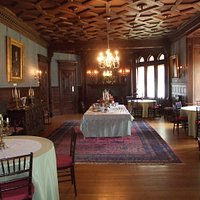 Our Tour included tea and treats here in the dining room