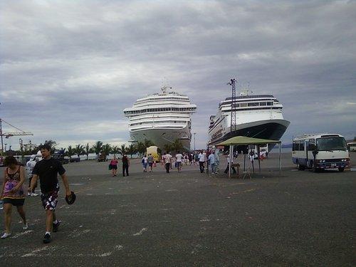 Cruceros en Puerto Limon