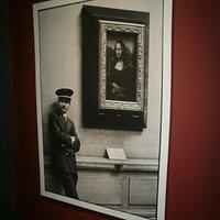 Uma das fotos da exposição!