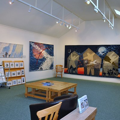 View of Hoxa Tapestry Gallery