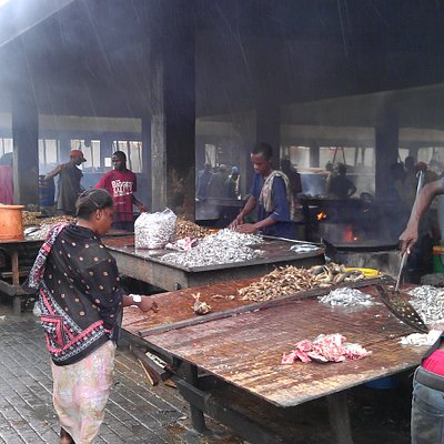Cooking the purchased fish