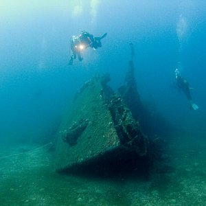 The Bow of the KT12 Wreck
